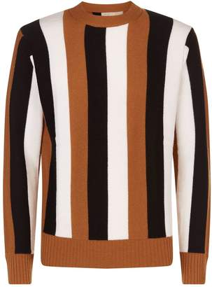 Sandro Vertical Stripe Sweater
