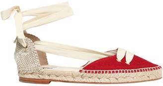 Manolo Blahnik Castaner By 20mm Day Canvas Espadrilles