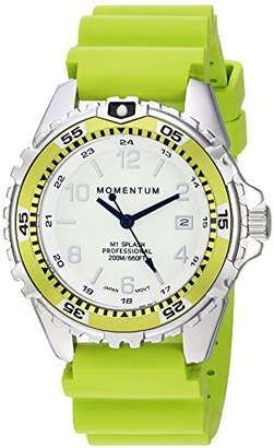 Momentum Women's Quartz Stainless Steel and Rubber Diving Watch