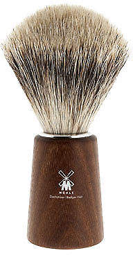 NEW Acacia wood shaving brush with best badger hair by The Design Gift Shop