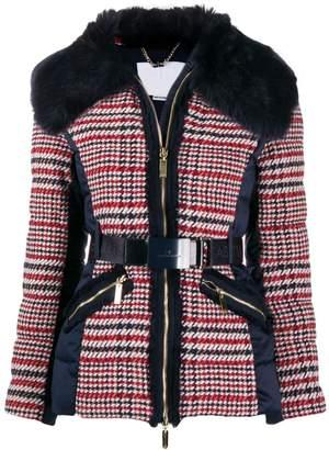 Elisabetta Franchi tweed contrast jacket