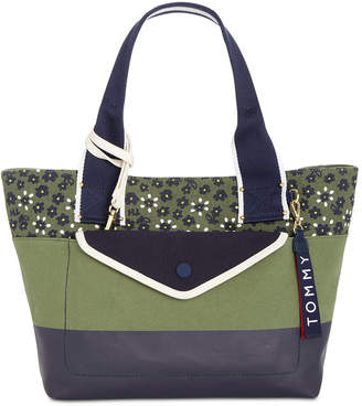 Tommy Hilfiger Classic Tommy Canvas Floral Tote