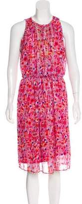 T Tahari Floral Print Midi Dress w/ Tags