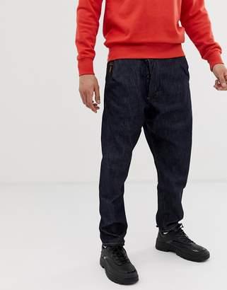 Vivienne Westwood drop crotch jeans in blue