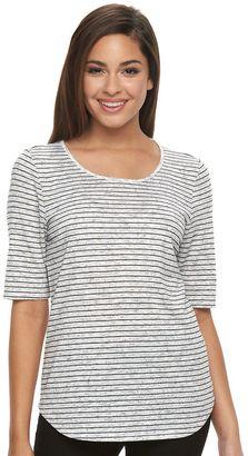 Women's Apt. 9® Essential Striped Tee $26 thestylecure.com