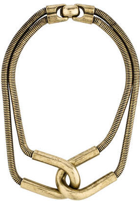 Giles & Brother Snake Chain Necklace $75 thestylecure.com