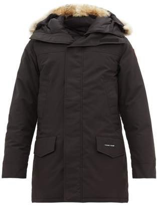 Canada Goose Langford Quilted Down Hooded Parka - Mens - Black