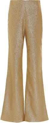 Leal Daccarett Borojo Oversized Lamé Pants
