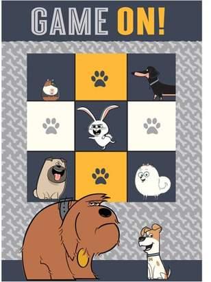 "Secret Life Of Pets 'Pet Games' Kids Game Rug, 2'7.5"" x 3'8"""