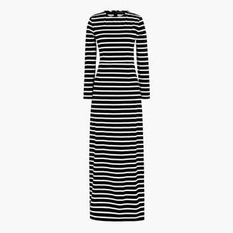 J.Crew Long-sleeve maxi dress