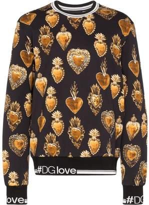 Dolce & Gabbana Sacred Heart print sweatshirt