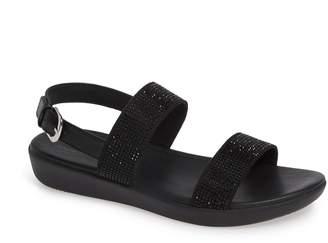 FitFlop Barra Crystal Embellished Sandal