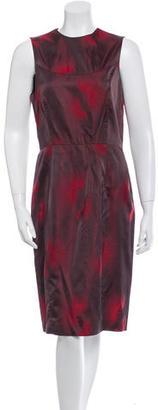 Vera Wang Lavender Label Sleeveless Sheath Dress $75 thestylecure.com