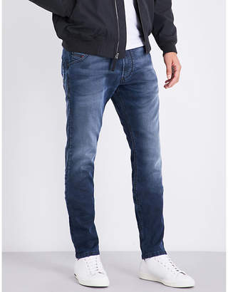 Diesel Krooley carrot-fit tapered jogg jeans