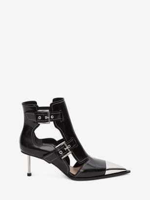 Alexander McQueen Cage Heel Boot
