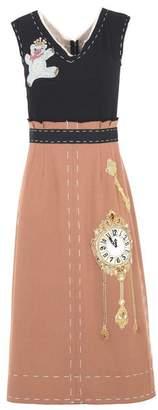 Dolce & Gabbana (ドルチェ & ガッバーナ) - ドルチェ & ガッバーナ 7分丈ワンピース・ドレス