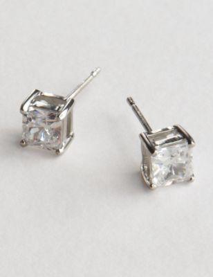 Small CZ Stud Earring