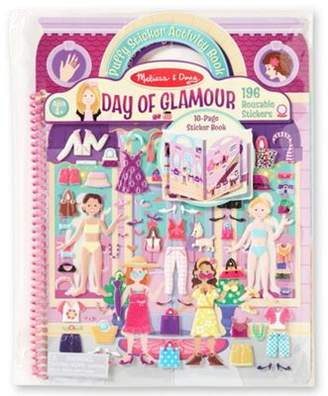 Melissa & Doug Puffy Sticker Activity Book Day Of Glamour