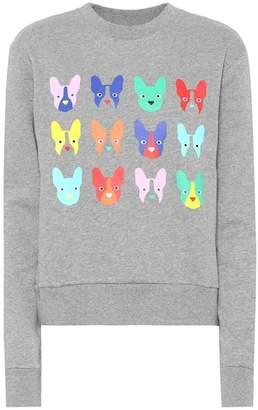 Être Cécile Printed cotton sweatshirt