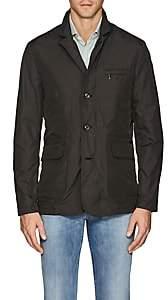 Moorer Men's Ghiberti Tech-Twill Layering Jacket-Green