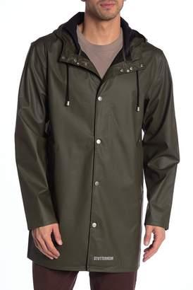 Stutterheim Stockholm Hooded Lightweight Waterproof Rain Jacket