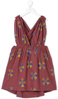 The Animals Observatory sleeveless printed dress