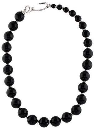 Di Modolo Black Agate & Diamond Oasis Necklace