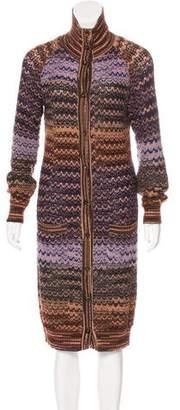 Missoni Wool Longline Cardigan