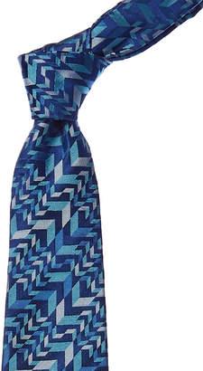 Turnbull & Asser Blue Arrows Silk Tie
