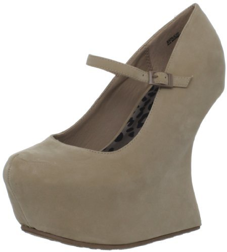 Dollhouse Women's Explicit Wedge Pump