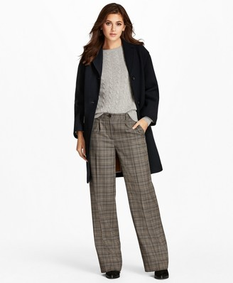 Brooks Brothers Double-Faced Wool-Blend Coat