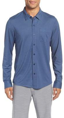 Travis Mathew Trip'Slim Fit Wrinkle Free Sport Shirt