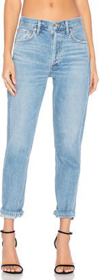 AGOLDE Jamie High Rise Classic $158 thestylecure.com