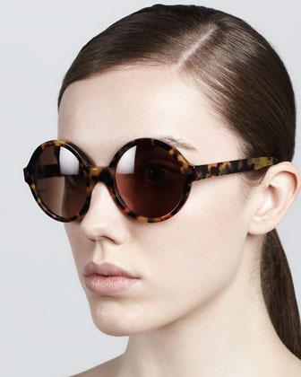 Illesteva Sophia Round Sunglasses