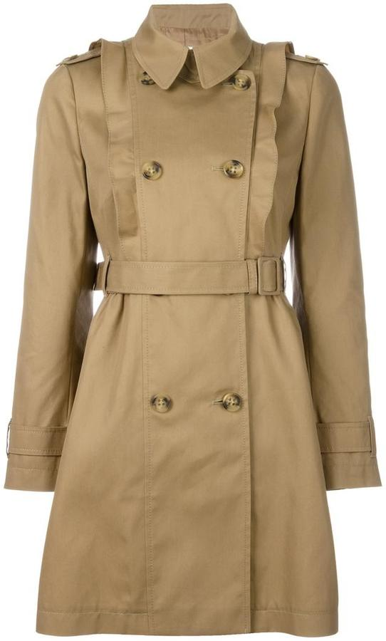 RED Valentino Red Valentino double breasted trench coat