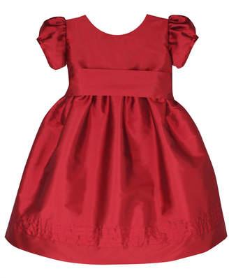 Isabel Garreton Timeless Taffeta Puffy-Sleeve Dress, Size 2-4T