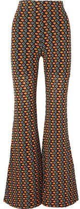 Beaufille Ruminia Crochet-knit Flared Pants