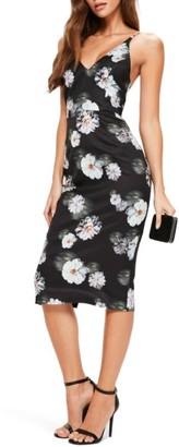 Women's Missguided Floral Print Midi Dress $62 thestylecure.com