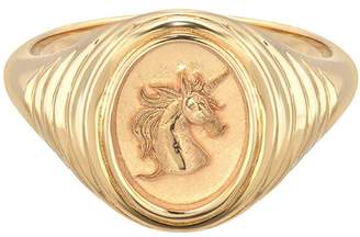 Retrouvaí Unicorn Signet Ring