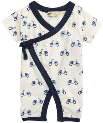 MONICA + Andy Sweet Baby Scooter Romper
