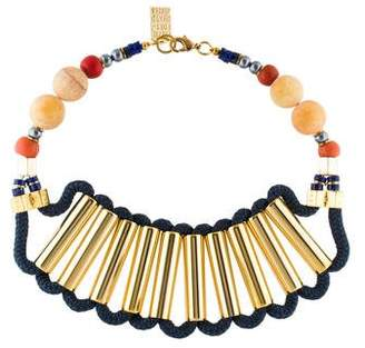 Lizzie Fortunato Bead Collar Necklace