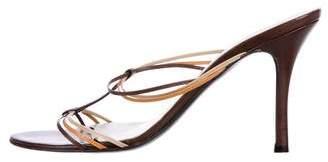 Bruno Magli T-Strap Slide Sandals