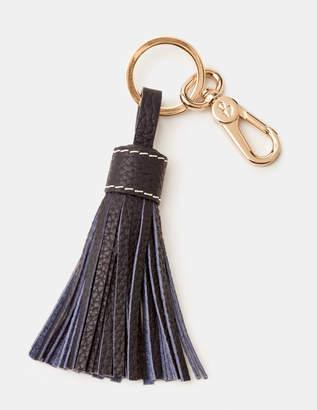 Boden Leather Tassel Keyring