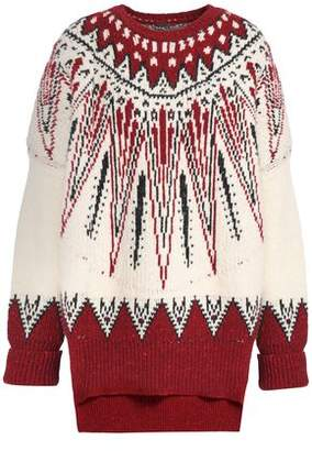 ADAM by Adam Lippes Merino Wool And Cashmere-blend Jacquard Sweater