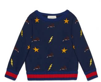 Children's embroidered sweatshirt $445 thestylecure.com