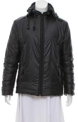 Fendi Hooded Puffer Coat