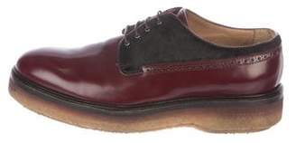 Etro Leather Brogue Derby Shoes