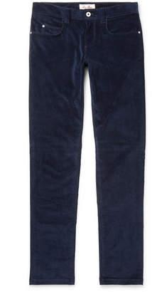 Loro Piana Slim-Fit Stretch-Cotton Corduroy Trousers