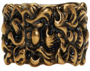 Gucci Gold Lion Mane Ring