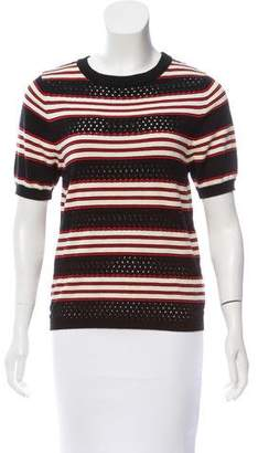 See by Chloe Striped Knit Top